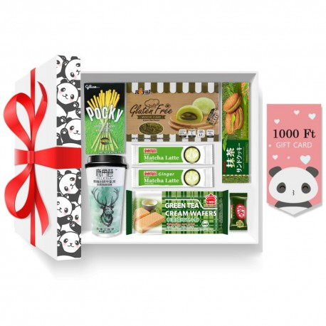 Panda Matcha imádó ajándékcsomag