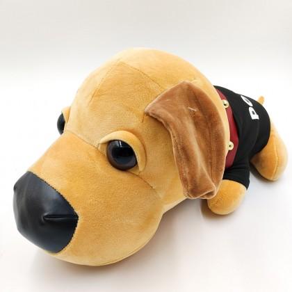 Cute pug plush backpack