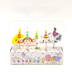 Party candles Animals