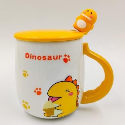 Green Dinosaur mug