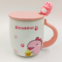 Pink Dinosaur mug