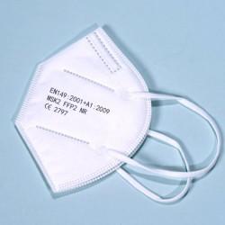 1 db Fehér FFP2 KN95 védőmaszk