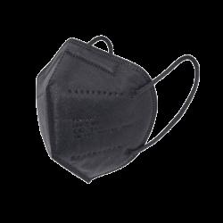 5 db Fekete FFP2 KN95 védőmaszk