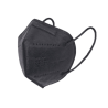 10 db Fekete FFP2 KN95 egészségügyi maszk