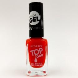 Revers gel effect nail enamel red No.113