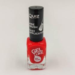 Quiz lakkzselé hatású körömlakk piros No.707