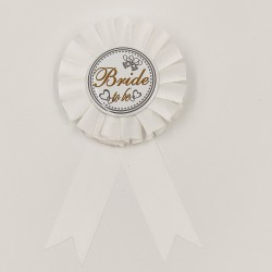 "Badge bachelorette party ""Bride to Be"""