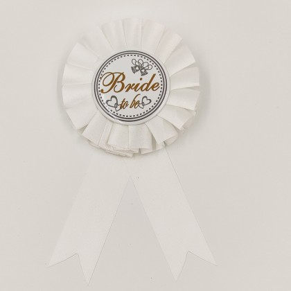 """Badge bachelorette party """"Bride to Be"""""""