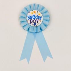 """Party kitűző szülinapi """"Birthday Boy"""""""