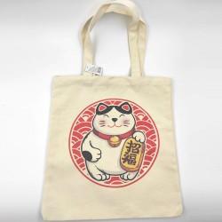 Lucky Cat Canvas Bag