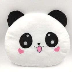 Kawaii panda plush pillow
