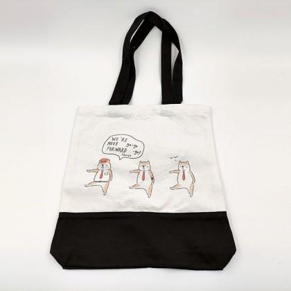 Kawaii Shiba Inu Canvas Bag