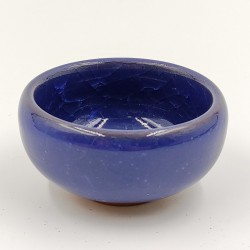 Blue porcelain teacup