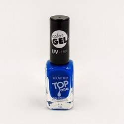 Revers gel effect nail enamel blue No.85