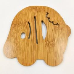 Bambusz Pohár alátét Elefánt