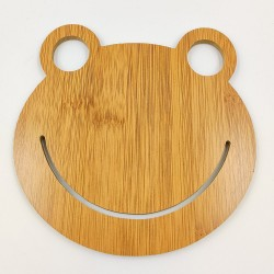 Bamboo Placemat Frog