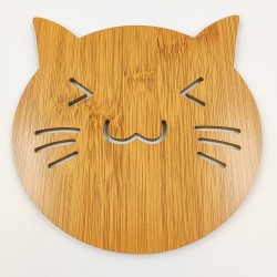 Bamboo Placemat Cutie Cat