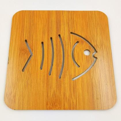 Bamboo Placemat Fishbone