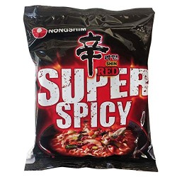 Nongshim Shin Red extrém csípős instant tészta
