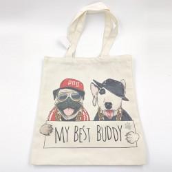 My Best Buddy Canvas Bag