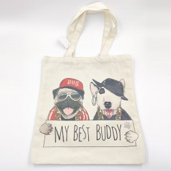My Best Buddy Canvas Bag