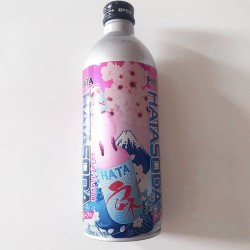 Hatakosen Grape Ramune Soda 500ml