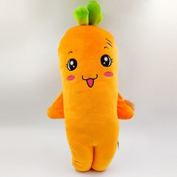 Cute smiling Carrot plush toy