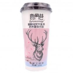 The Alley LJX Tapioca Pearl instant Peach milk Oolong tea