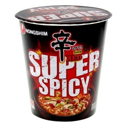 Shin Red Super Spicy Instant Noodle Cup