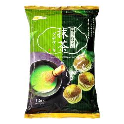 Marukin Mini Cake Uji Matcha Flavour- 12 pcs