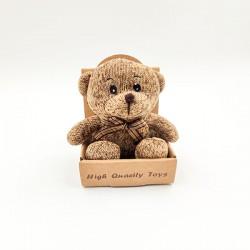 Classical little light brown bear plush