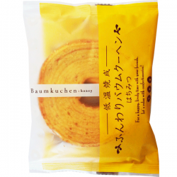 Taiyo Baumkuchen Mini Honey 65g