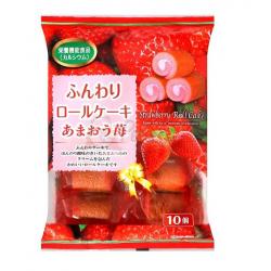 Yamauchi mini eper piskótatekercs