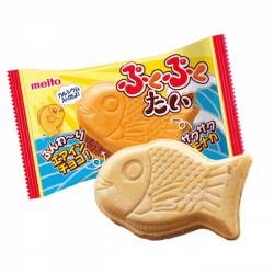Meito Puku Puku Tai Air-In Chocolate