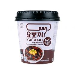 Yopokki Jjajang instant Tteokbokki/Rice Cake cup