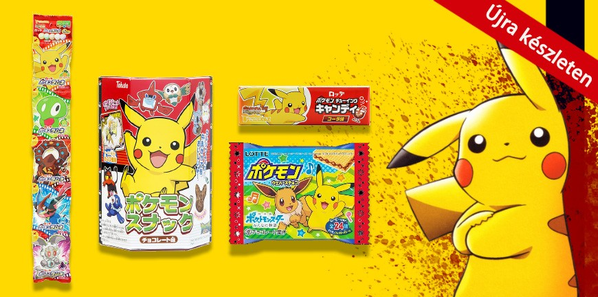 Pokémon termékek