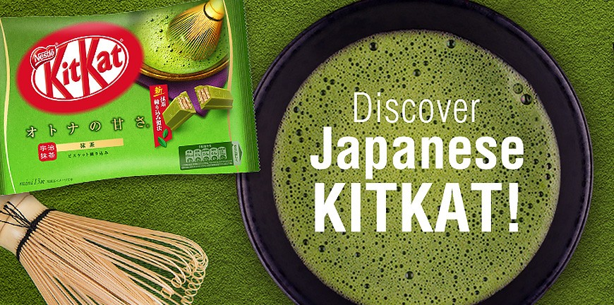 Japán Kit Kat